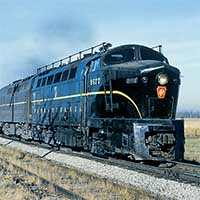 PRR Lines West, Crestline to Chicago