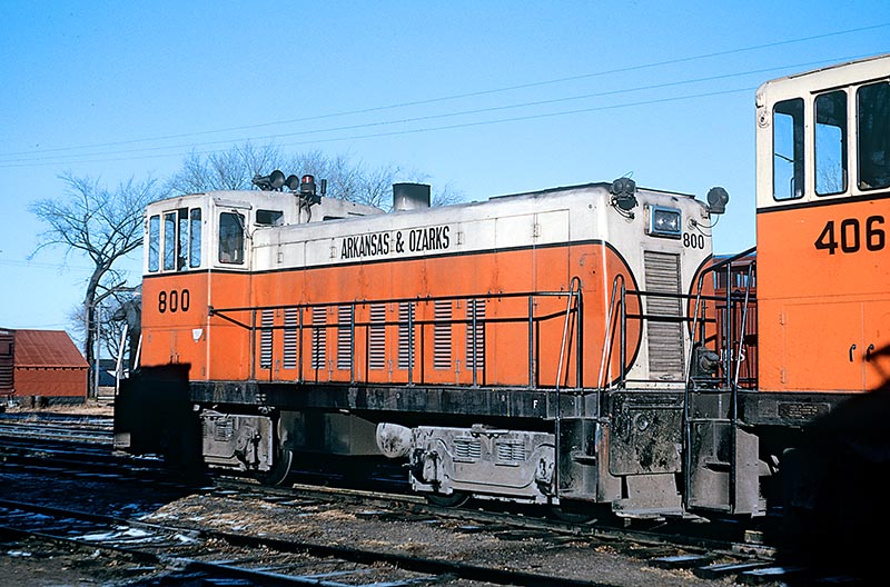 Arkansas & Ozarks Railway
