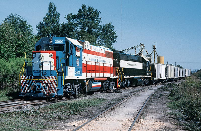 Railfanning Eastern North Carolina in the 1970s and 1980s