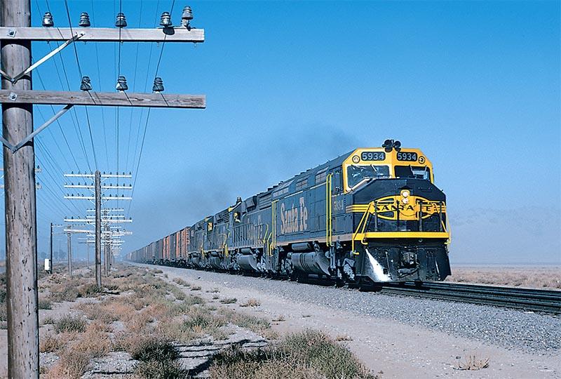 1972 Western Railfanning Trip