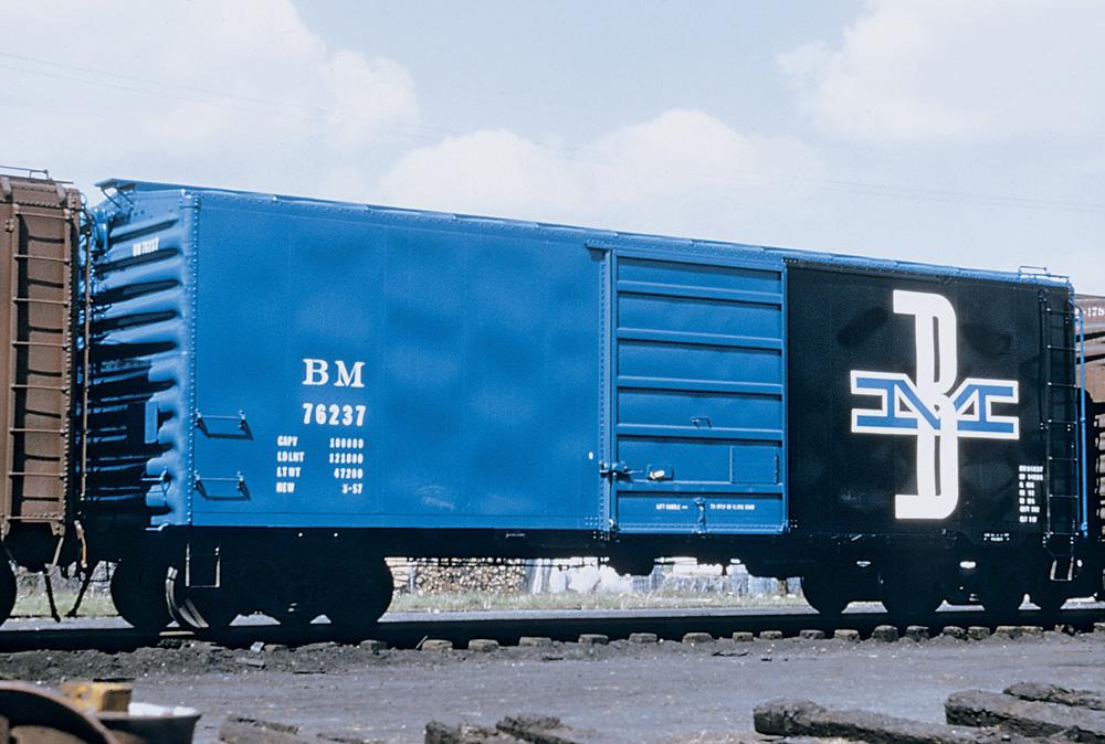 Boston & Maine boxcar 76237