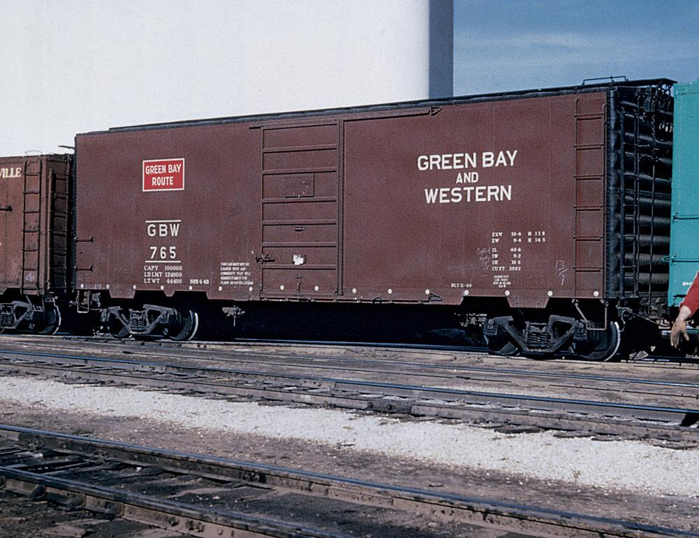 Green Bay & Western boxcar 765