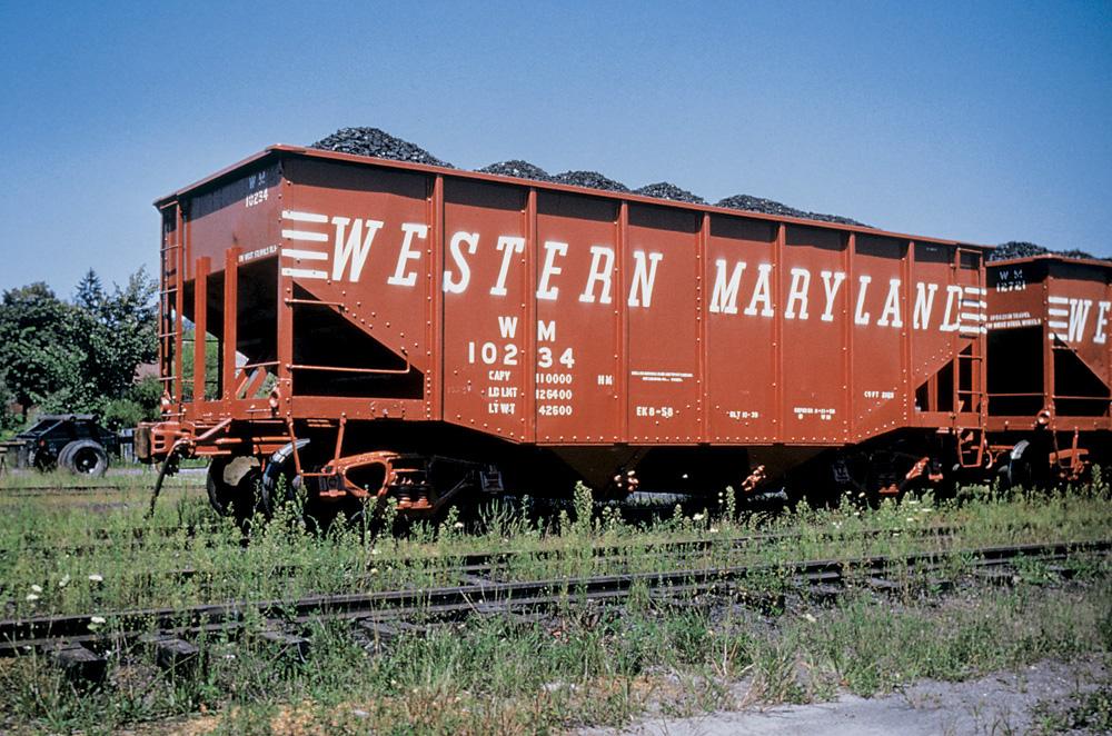 Western Maryland hopper 10234