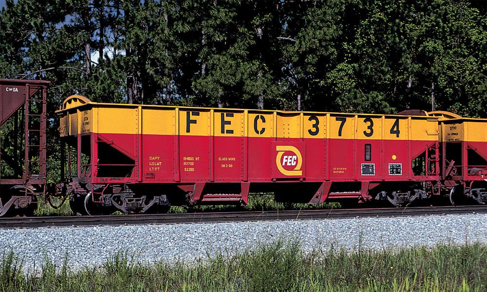 Florida East Coast hopper 3734