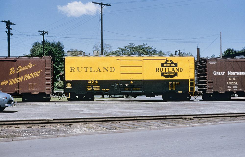 Rutland boxcar 274