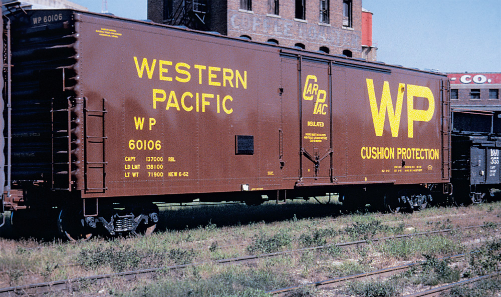 Western Pacific boxcar 60106
